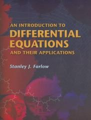 An Introduction to Differential Equations and Their Applications 1st Edition 9780486445953 048644595X