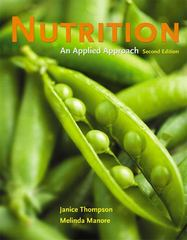 Nutrition: An Applied Approach 2nd Edition 9780321512185 0321512189