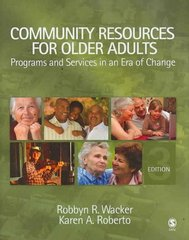 Community Resources for Older Adults 3rd Edition 9781412951296 1412951291
