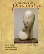 Theories of Personality 4th Edition 9780471303428 0471303429