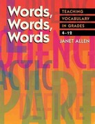 Words, Words, Words 1st Edition 9781571100856 1571100857
