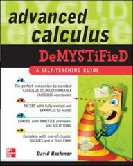 Advanced Calculus Demystified 1st Edition 9780071481212 0071481214