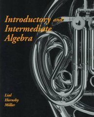 Introductory and Intermediate Algebra 1st edition 9780321019264 0321019261