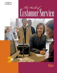 The World of Customer Service 2nd edition 9780538730464 0538730463