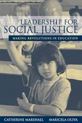 Leadership for Social Justice 2nd Edition 9780131362666 0131362666