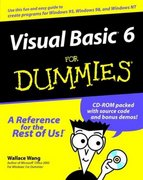 Visual Basic 6 For Dummies 1st Edition 9780764503702 0764503707