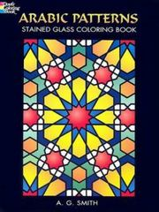 Arabic Patterns Stained Glass Coloring Book 0 9780486448398 0486448398