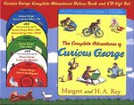 Curious George Complete Adventures Deluxe Book and CD Gift Set 0 9780618750429 0618750428