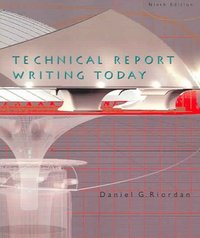 Technical Report Writing Today 9th edition 9780618433896 0618433899