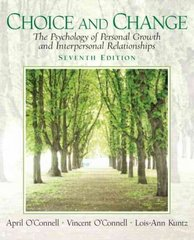 Choice and Change 7th edition 9780131891708 0131891707