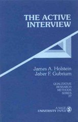The Active Interview 1st edition 9780803958951 0803958951