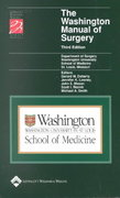 The Washington Manual of Surgery 3rd edition 9780781733892 0781733898