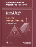 Linear Programming 1st edition 9780387948331 0387948333