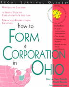How to Form a Corporation in Ohio 1st edition 9781572481749 1572481749