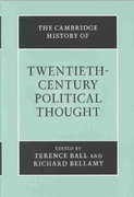 The Cambridge History of Twentieth-Century Political Thought 0 9780521563543 0521563542