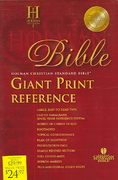 HCSB Giant Print Reference Bible 0 9781586401573 1586401572