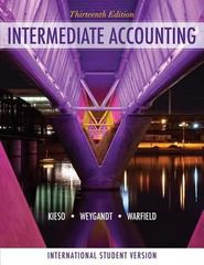 Intermediate Accounting 13th edition 9780470418918 0470418915