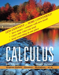 Calculus: Single Variable 5th edition 9780470418062 0470418060