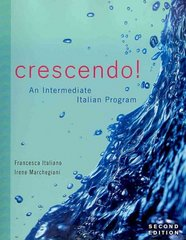Crescendo! 2nd edition 9780470425855 0470425857