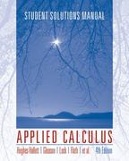 Applied Calculus, Student Solutions Manual 4th edition 9780470170533 0470170530