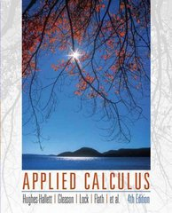 Applied Calculus 4th edition 9780470170526 0470170522