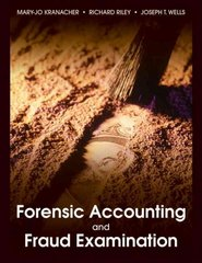 Forensic Accounting and Fraud Examination 1st edition 9780470437742 047043774X