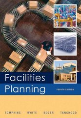 Facilities Planning 4th Edition 9780470444047 0470444045