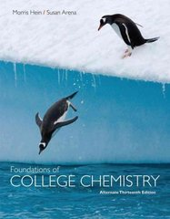 Foundations of College Chemistry, Alternate 13th edition 9780470460603 0470460601