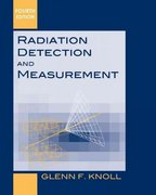 Radiation Detection and Measurement 4th Edition 9780470131480 0470131489