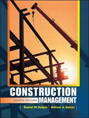 Construction Management 4th edition 9780470447239 0470447230