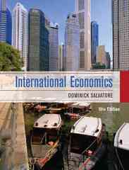 International Economics 10th edition 9780470388341 047038834X