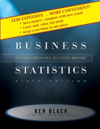 Business Statistics 6th edition 9780470409015 0470409010