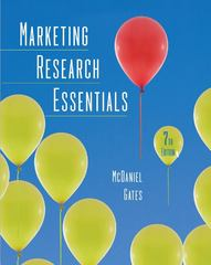 Marketing Research Essentials 7th Edition 9780470169704 0470169702
