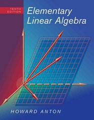 Elementary Linear Algebra 10th edition 9780470458211 0470458216