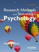 Research methods and Statistics in Psychology 5th edition 9780340983447 0340983442