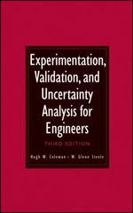 Experimentation, Validation, and Uncertainty Analysis for Engineers 3rd Edition 9780470168882 0470168889