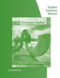 Student Solutions Manual for Tussy/Gustafson's Elementary Algebra 4th edition 9780495389644 0495389641