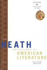 The Heath Anthology of American Literature: Volume A: Beginnings to 1800 6th edition 9780618897995 0618897992