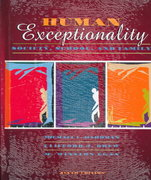 Human Exceptionality 6th edition 9780205312627 0205312624