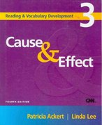 Cause & Effect 4th edition 9781424034994 142403499X