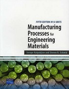 Manufacturing Processes for Engineering Materials SI 5th edition 9789810679538 981067953X