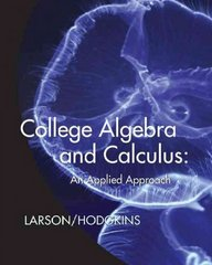 College Algebra and Calculus 1st Edition 9780547167053 0547167059