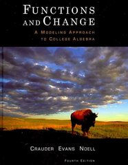 Functions and Change 4th edition 9781111785024 1111785023