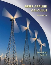 Applied Calculus, Brief 5th edition 9780547169774 0547169779