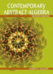 Contemporary Abstract Algebra 7th edition 9780547165097 0547165099