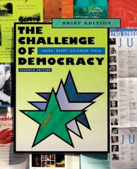 The Challenge of Democracy 7th edition 9780547216317 0547216319