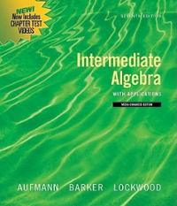 Intermediate Algebra with Applications, Multimedia Edition 7th edition 9780547197975 0547197977