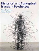 Historical and Conceptual Issues in Psychology 1st edition 9780273718185 0273718185