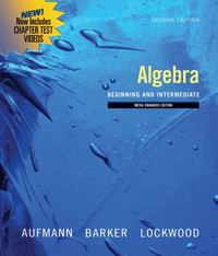 Algebra 2nd edition 9780547197944 0547197942