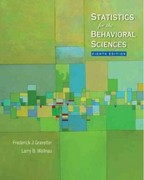 Study Guide for Gravetter/Wallnau's Statistics for the Behavioral Sciences 8th edition 9780495602965 0495602965